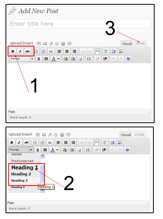 wordpress-text-editor-formating