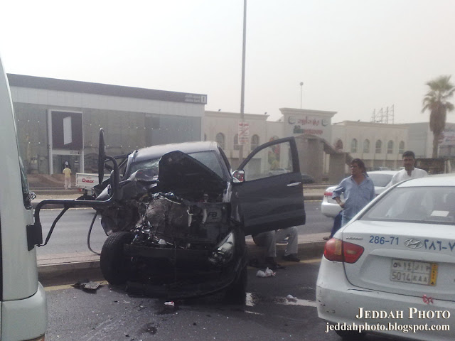 A Road Accident Saudi Arabia