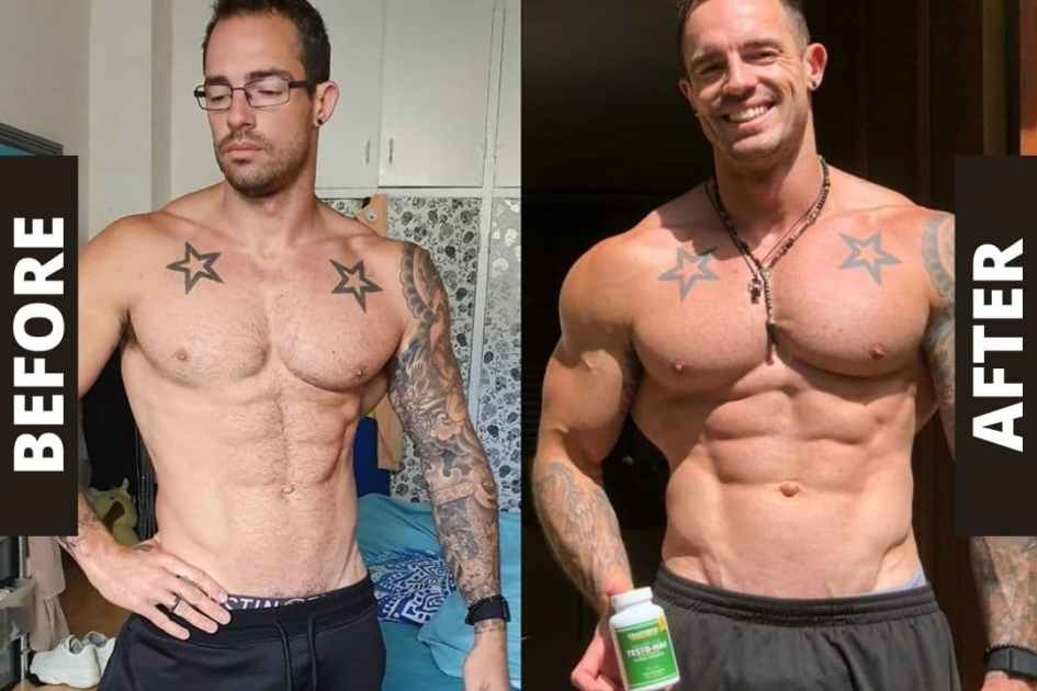 Before and After Pics Bulking Stack Crazy Bulk