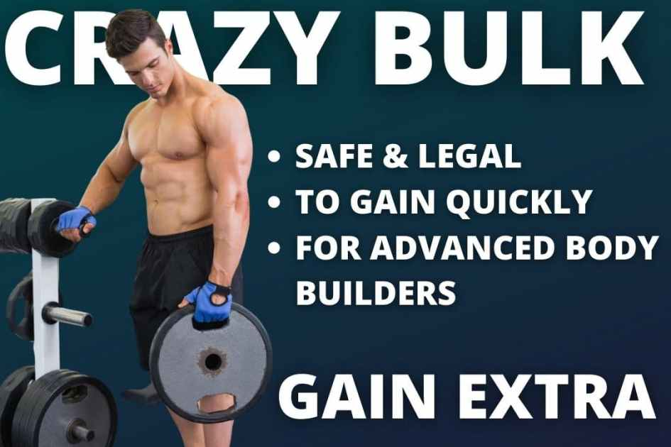 Crazy Bulk Bulking Stack Best for