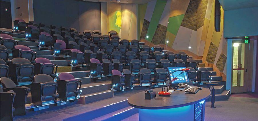 esitlustehnika auditoorium saal