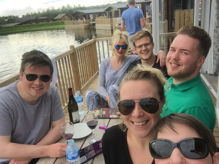 Prosecco and Pie visits Woodland Lake Lodges