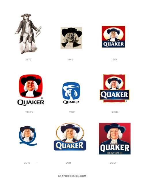 Quaker Logo : quaker, Rebrand, Alert:, Quaker, Oats's,