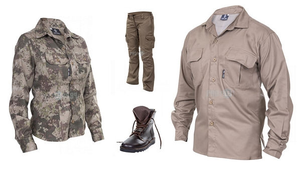Industrial product photographer clothing