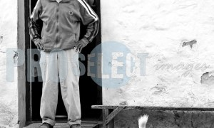 Arniston man and dog | ProSelect-images