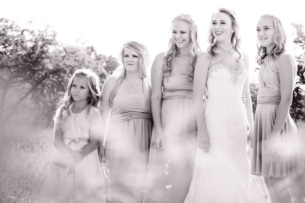 Bride with bridesmades Mooiplaas | ProSelect-images