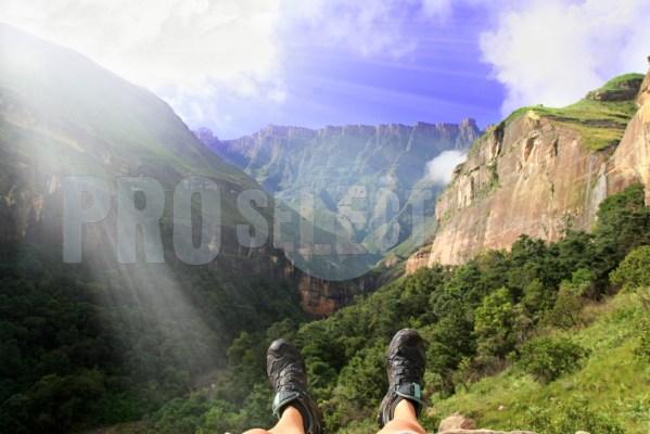 Hikers glory Tugela Gorge | ProSelect-images