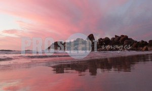 West Coast pink skies | ProSelect-images
