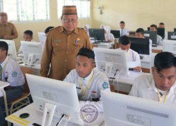 Dua Sekolah di Boalemo, Laksanakan Ujian USBK