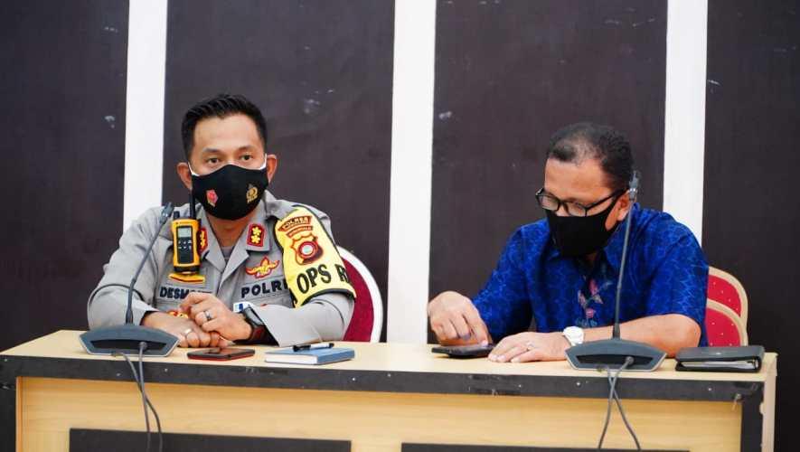 Kapolres Gorontalo Kota AKBP Desmont Harjendro/Prosesnews.id