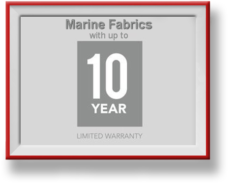 Marine Fabrics like Sunbrella and TopGun in Vernon BC