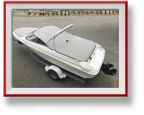 Custom Boat Tops and Covers in Vernon BC