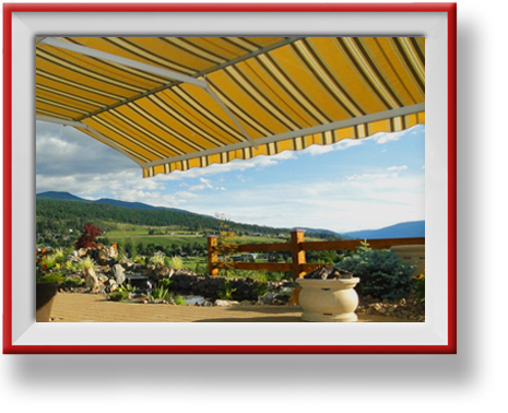 Retractable Awnings by ProSew in Vernon BC