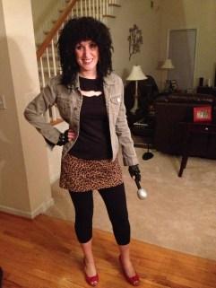 Punk rocker Ali