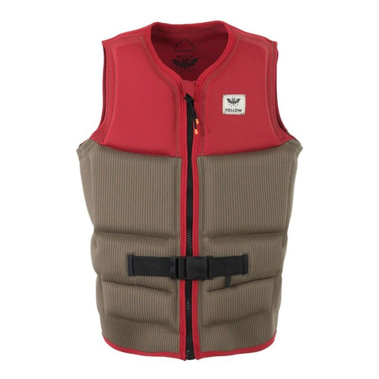 FOLLOW Mitch Pro Mens Buoyancy Vest - custom corduroy neoprene