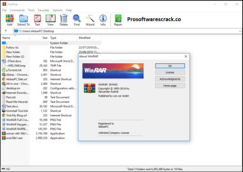 WinRAR 6.0 Crack With License Key {Latest Version} Free Download 2021