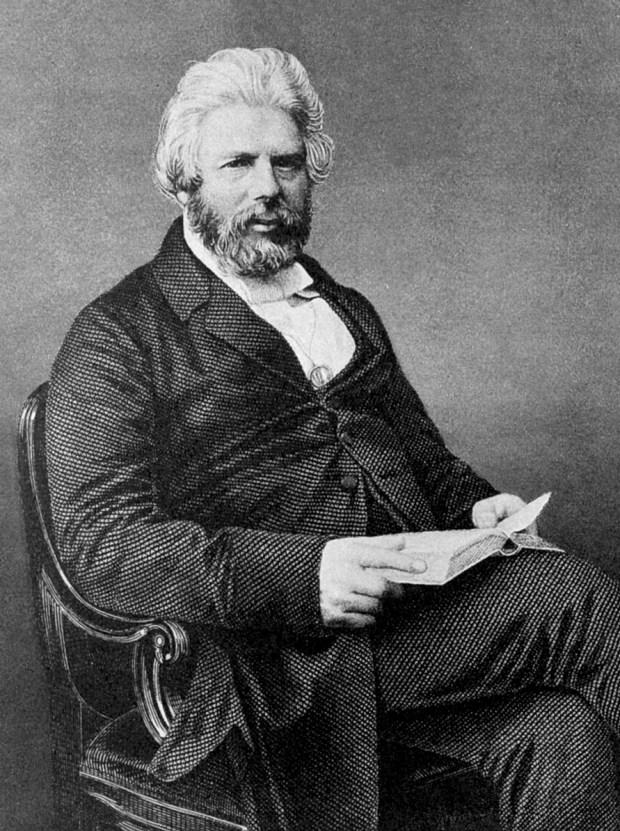 Robert Chambers nel 1863, quando ancora era ignoto a tutti chi fosse il vero autore delle Vestiges.