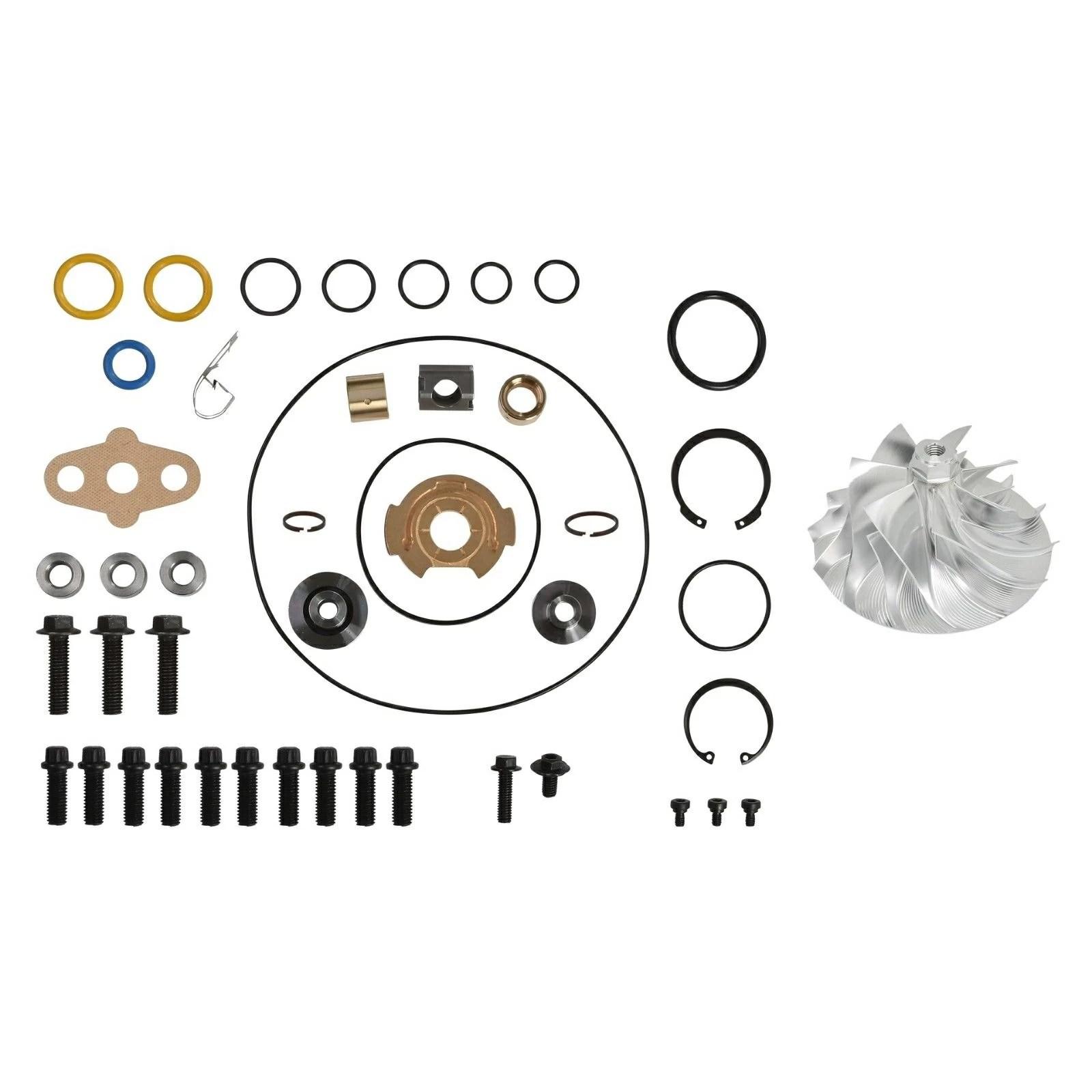 GT3782VA Turbo Rebuild Kit Billet Wheel for 03-Early 04 6