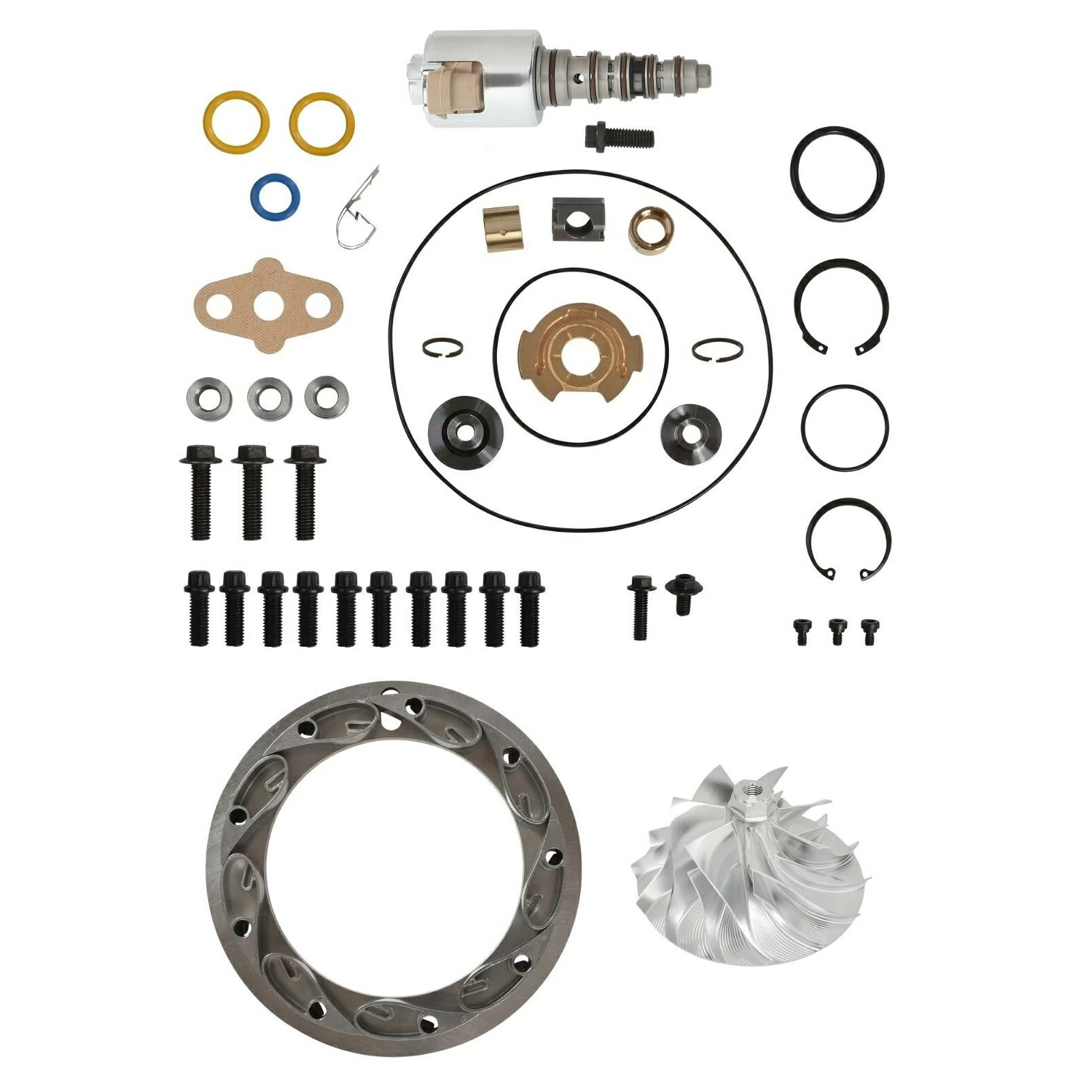 SPOOLOGIC GT3782VA Turbo Rebuild Kit Billet Wheel 13.2mm