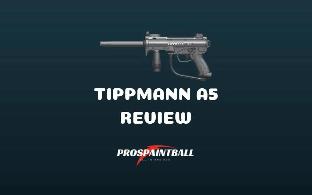 Tippmann a5 shooting