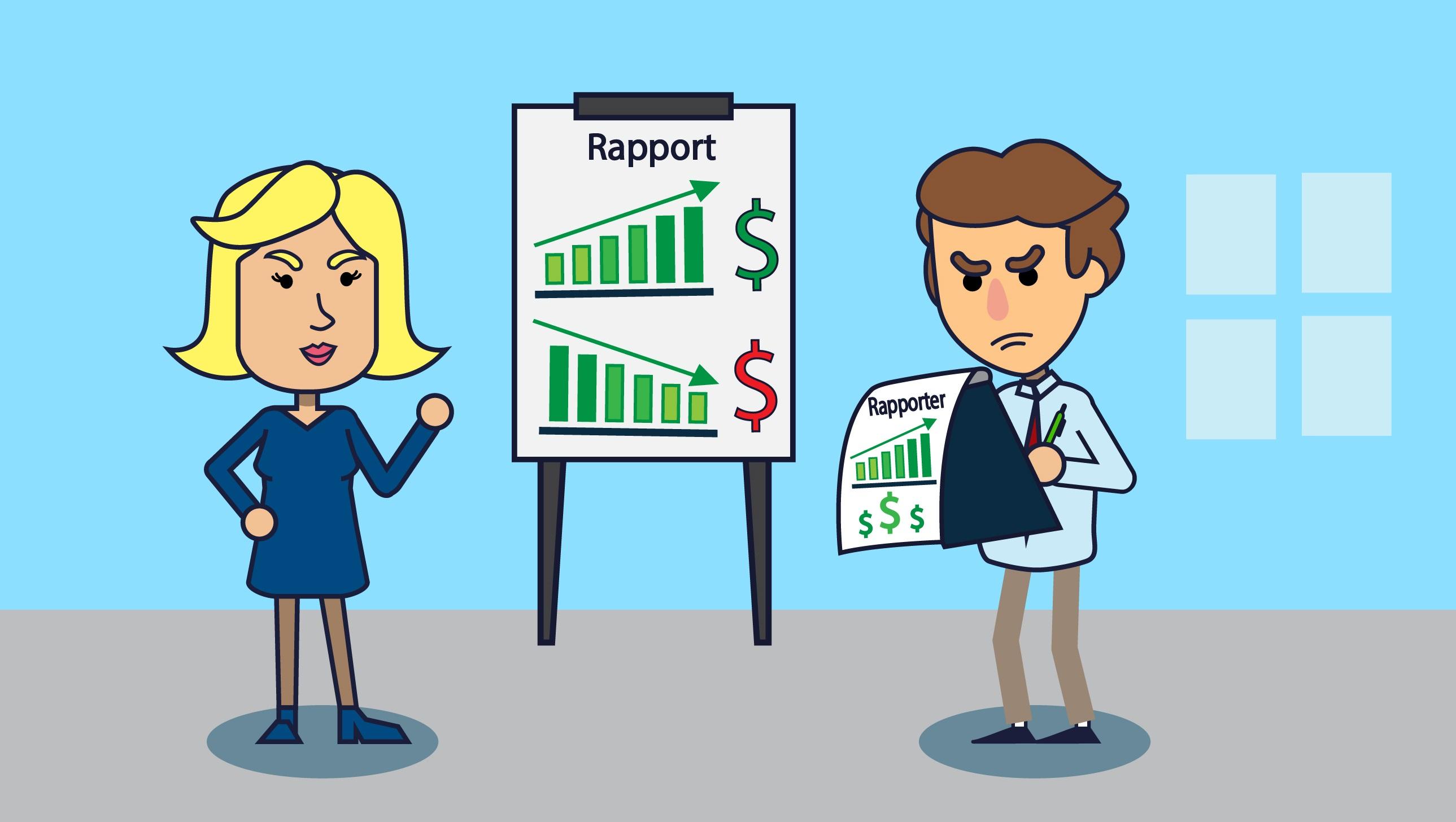 crm salg og rapporter b2b crm