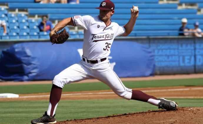 Asa Lacy Texas A&M baseball, MLB Draft, scouting, Draft order, MLB draft order