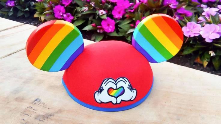 Gay Pride Mickey Ears