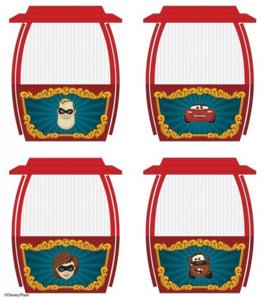 Incredibles Cars Pixar Pal-A-Round