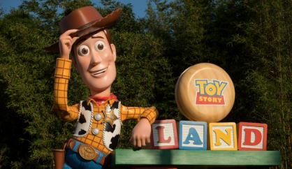 Woody Toy Story Land