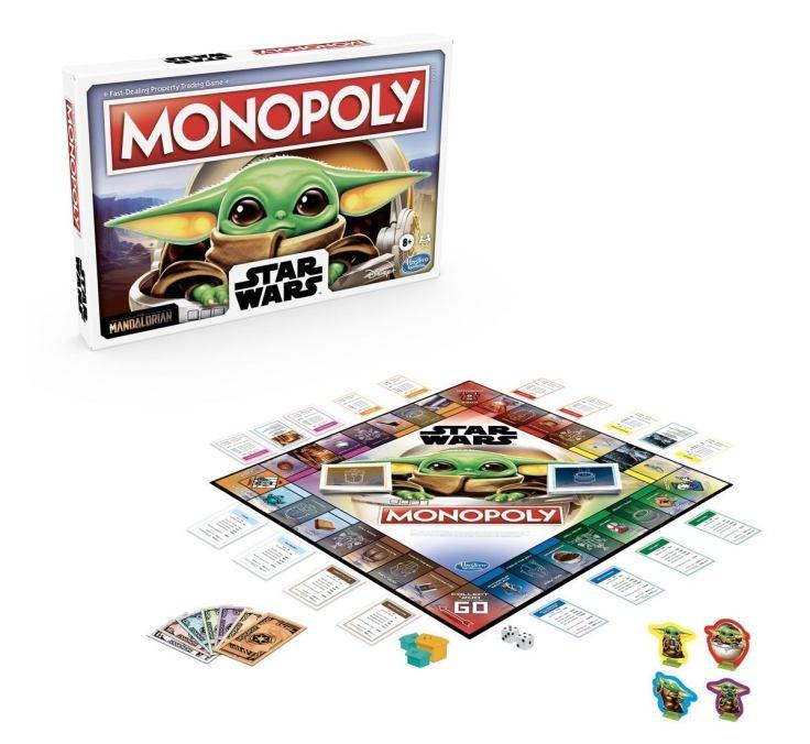 Baby Yoda Monopoly