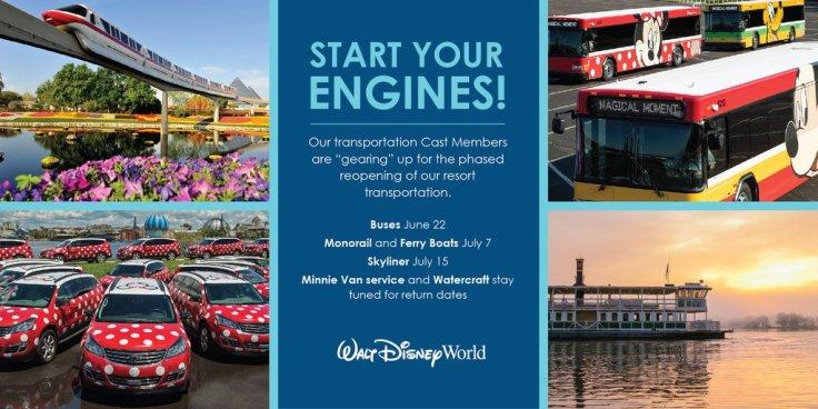 Disney Transportation COVID