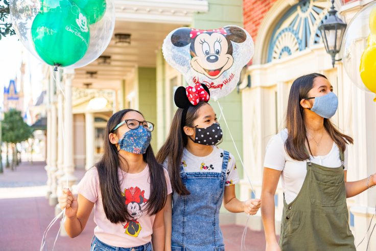 Guests Wearing Face Coverings