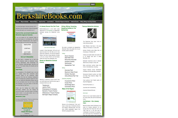 Berkshire Books: Web Development
