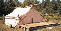 Prospector Tents & Woods Industrial Prospector Wall Tent
