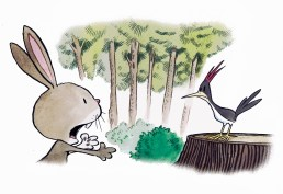 1 bunny and Benny
