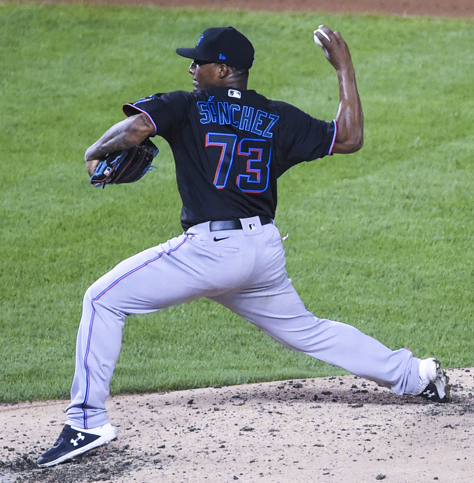 Sixto Sanchez leads the Marlins to the NLDS