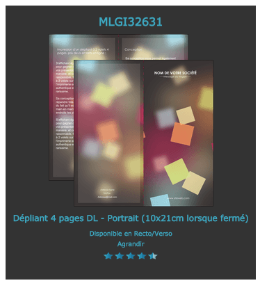 programme festival 2 volets 1 plis 4 pages