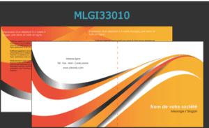 Modèle de prospectus publicitaire personnalisable sur notre site d'imprimerie en ligne.