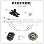 Runner FR14 jarruosat