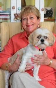 Patti Moran with Bella