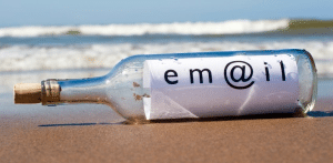 email bottle