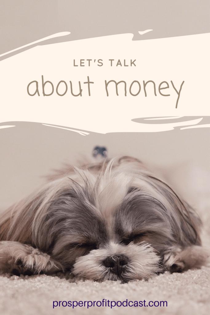 talk money, money story