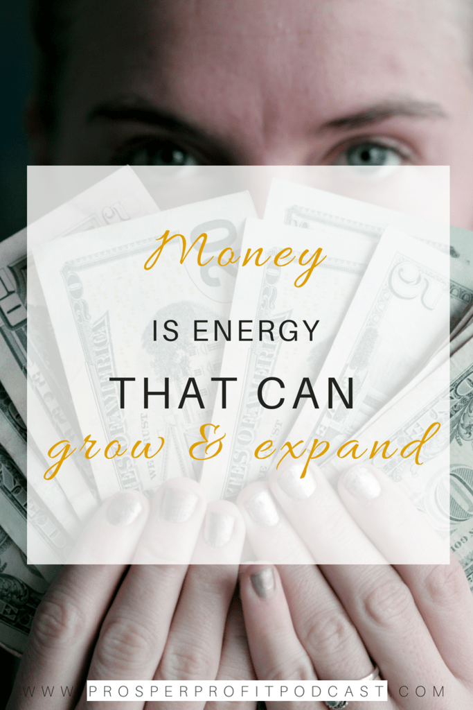 money is energy
