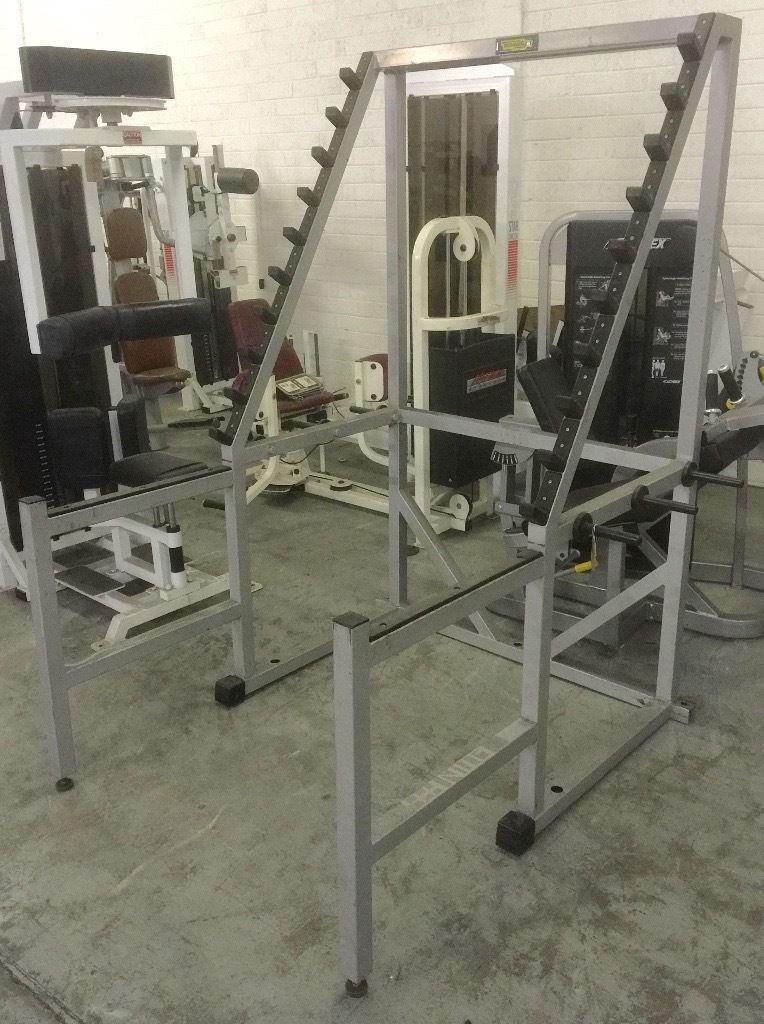 technogym isotonic squat rack