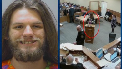 Photo of Man arrested for smoking weed in Courtroom while pleading for Legalization