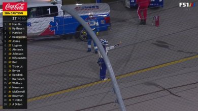 Photo of Watch: Chase Elliott Flips Kyle Busch Off After Getting Crashed Late #NASCAR