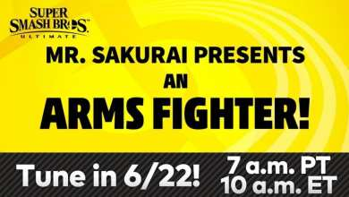 Photo of It's Finally Happening, Masahiro Sakurai Is Unveiling The Latest Smash Bros Character From ARMS