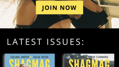 Photo of Julia Rose Announces That the SHAGMAG's Official Website Has Been Launched | @SHAGMAG_ @JuliaRose_33