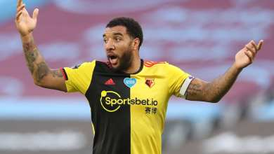 "Photo of Two Years Ago Troy Deeney Said Arsenal Lacked ""Cajones."" They Ended Up Relegating Watford Today."