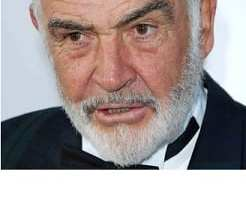 """Photo of Sir Sean Connery: """"It's not the worst thing to slap a woman now and then."""" Say What? Wednesday"""